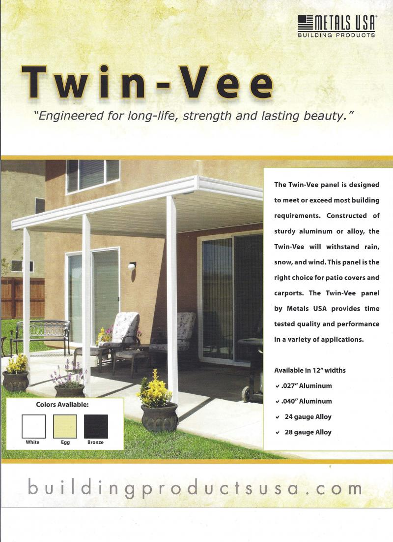 Twin Vee Patio Cover oklahoma city